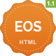 EOS - A Responsive Bootstrap 3 App Landing Page Nulled