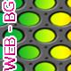 Metal Grid Web BG - GraphicRiver Item for Sale