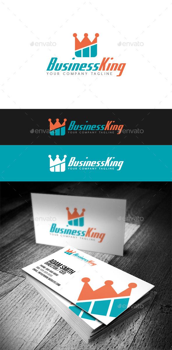 Business King Logo - Abstract Logo Templates