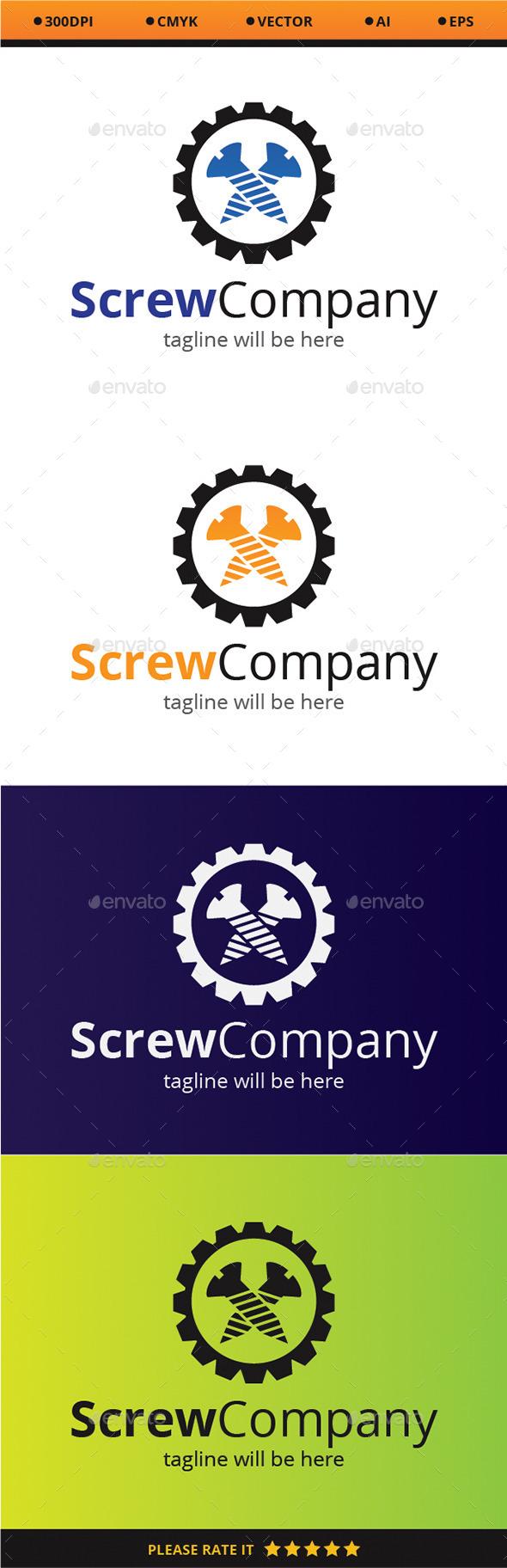 Screw Company - Company Logo Templates