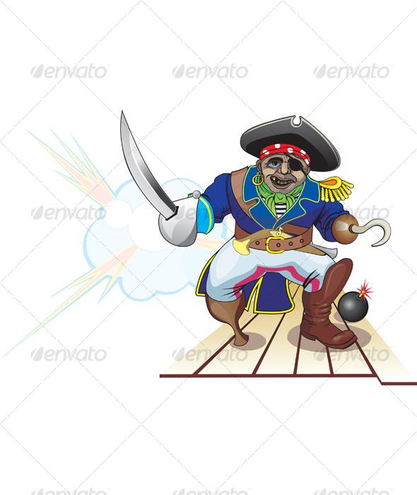 Pirate attack - Conceptual Vectors