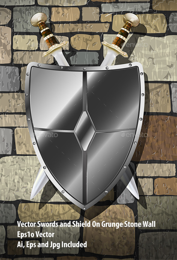 Swords On The Wall - Miscellaneous Vectors