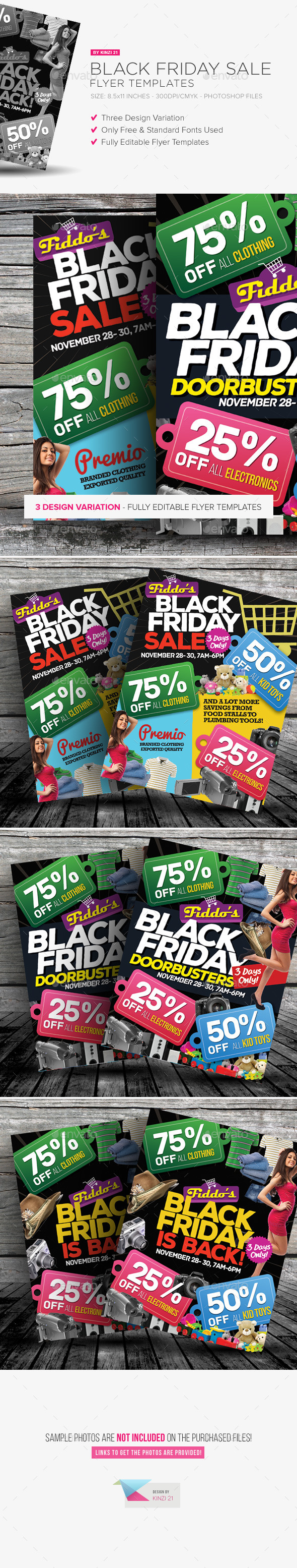 Black Friday Sale Flyers - Commerce Flyers