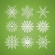 Collection of Snowflakes - GraphicRiver Item for Sale