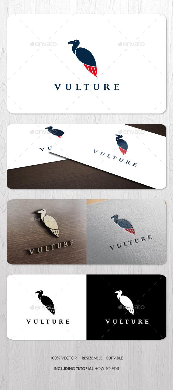 Vulture Logo V2 - Animals Logo Templates
