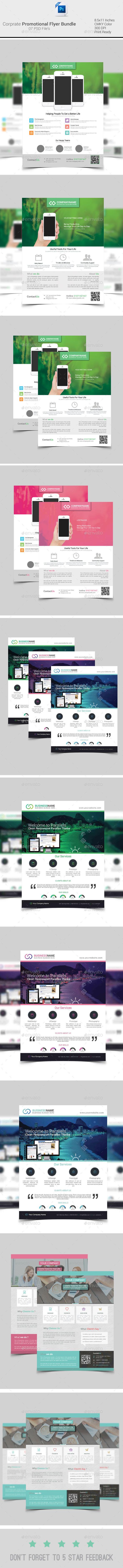 Corporate Promotion  Flyer Bundle - Corporate Flyers