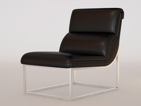 INTERIO Chatdeau Dax Chair - 3DOcean Item for Sale