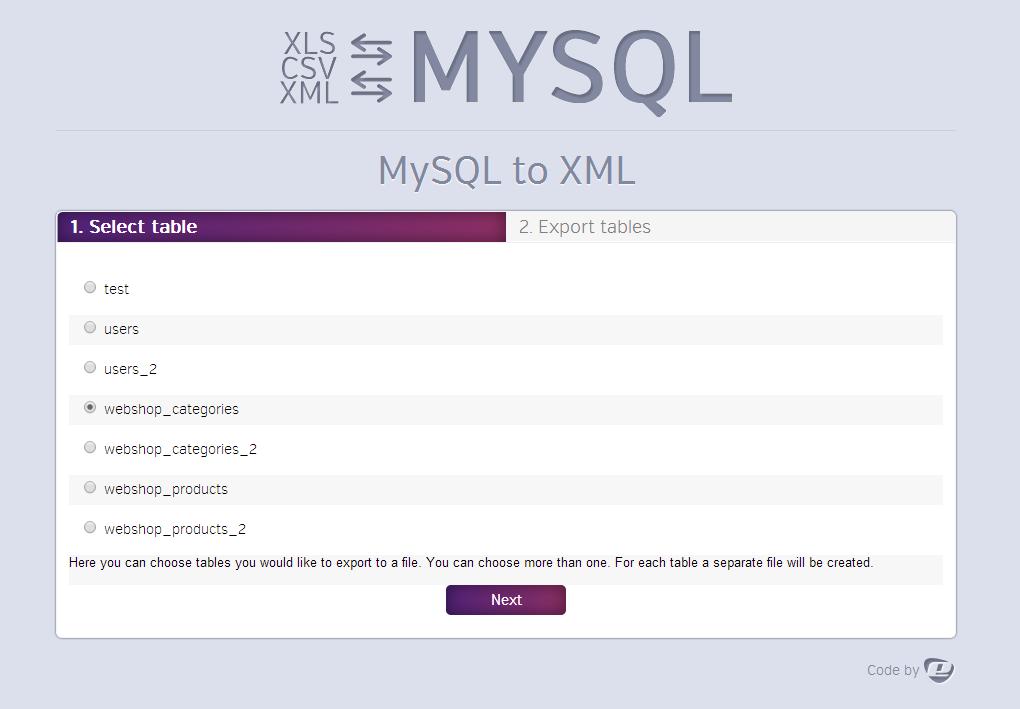Ultimate DB import/export (CSV-XLS(x)-XML-MySQL)