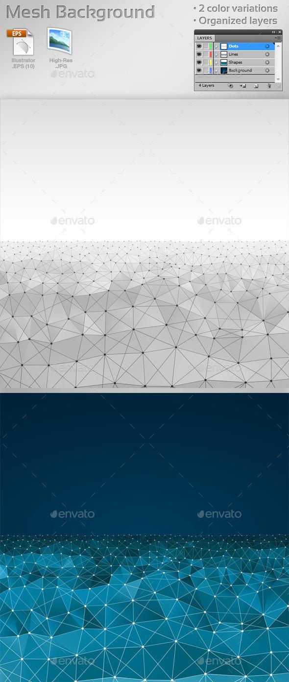 Mesh Backgrounds - Backgrounds Decorative