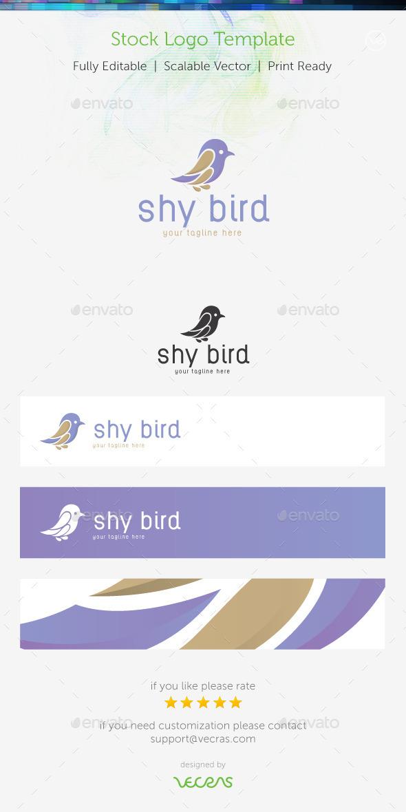 Sky Bird Stock Logo Template - Nature Logo Templates