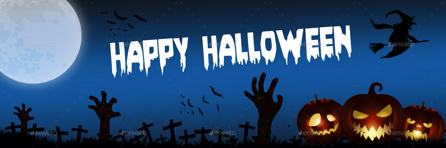 Halloween - Twitter Header Cover Designs by 1stone ... | 1500 x 500 jpeg 178kB