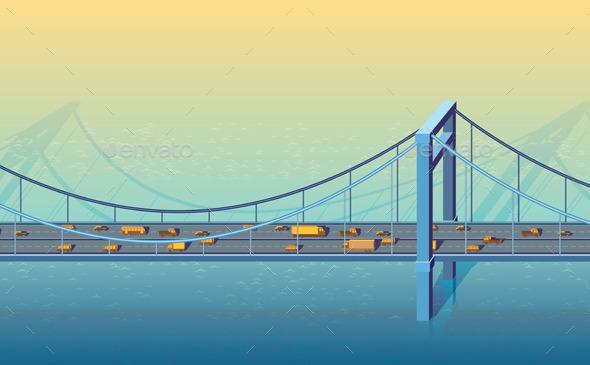 Large Bridge - Buildings Objects