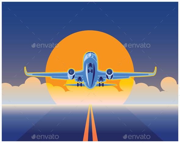 Air Freight - Conceptual Vectors