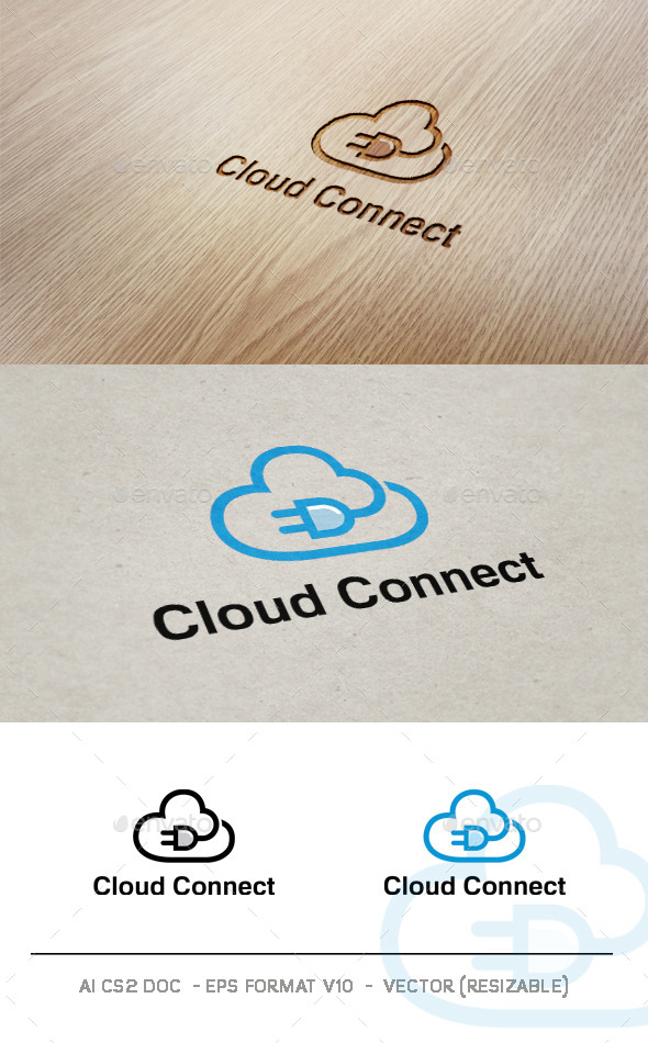 Cloud Connect V2 - Symbols Logo Templates