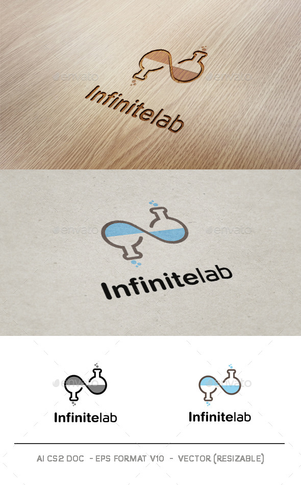 Infinite Lab logo - Symbols Logo Templates