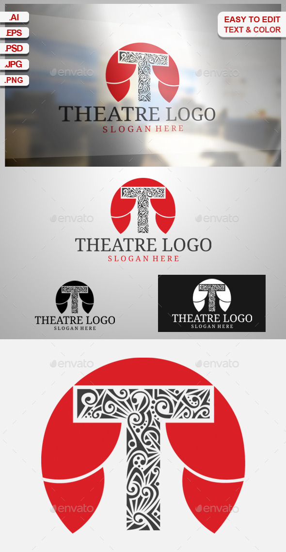 Ttheatre Logo - Objects Logo Templates