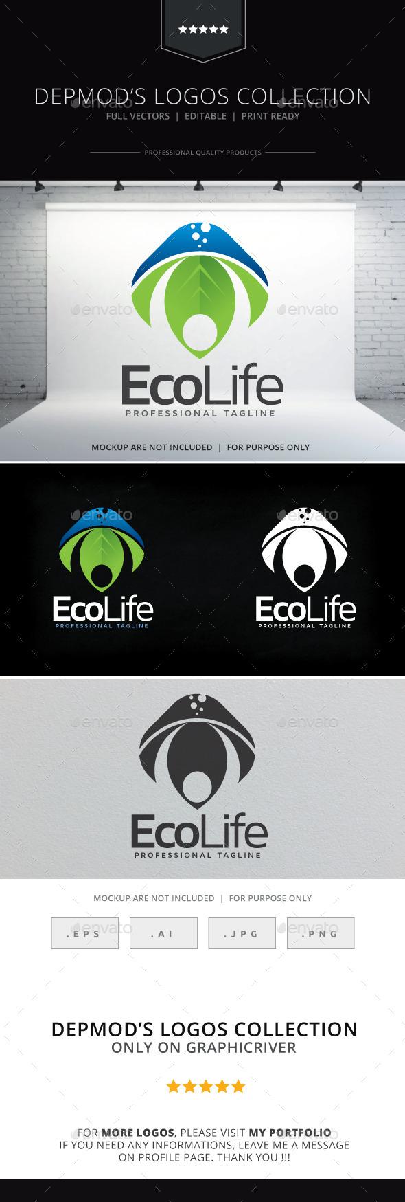 Eco Life V.02 Logo - Nature Logo Templates