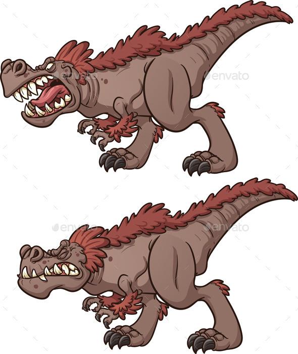 Tyrannosaurus Rex - Animals Characters