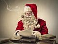 Santa reading letters - PhotoDune Item for Sale