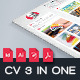 Resume Cv 3 In One - GraphicRiver Item for Sale