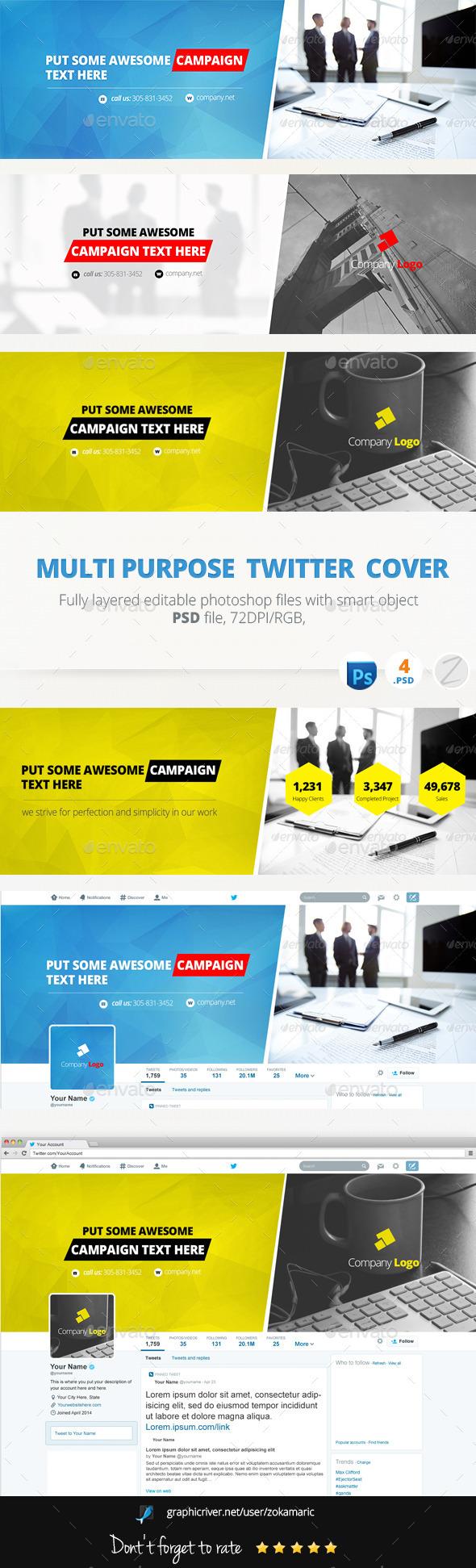 Multi Purpose Twitter  - Twitter Social Media