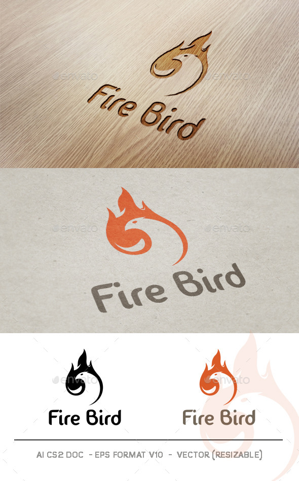 Fire Bird V2 Logo