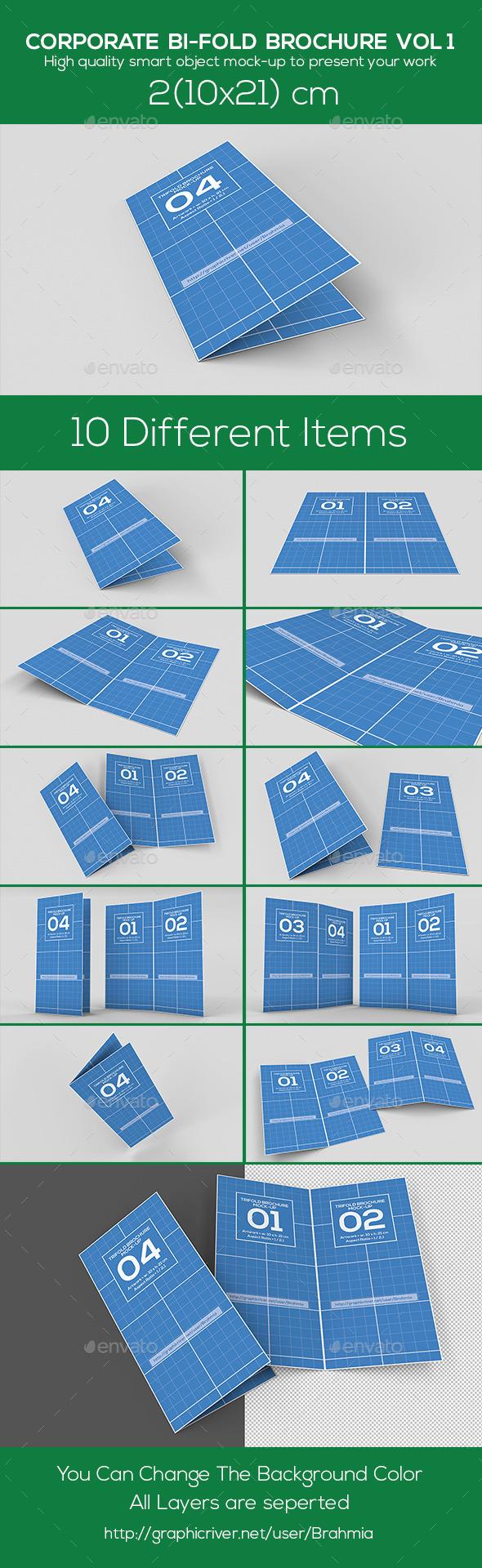 Corporate BI-FOLD Brochure - Brochures Print
