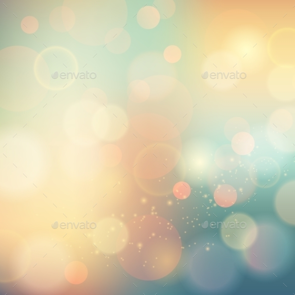 Soft Colored Abstract Background - Seasons/Holidays Conceptual