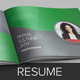 Resume Booklet Design (InDesign) - GraphicRiver Item for Sale