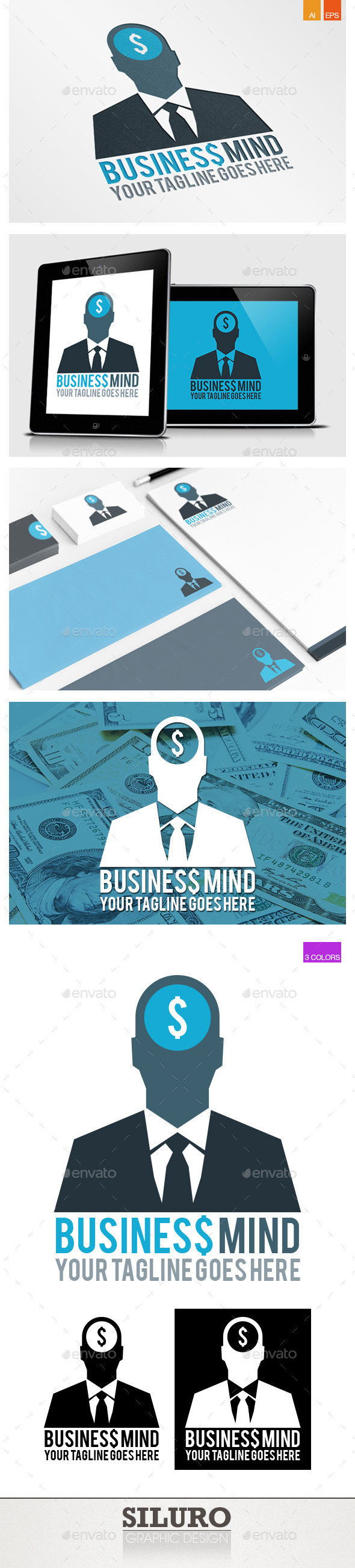 Business Mind II - Humans Logo Templates