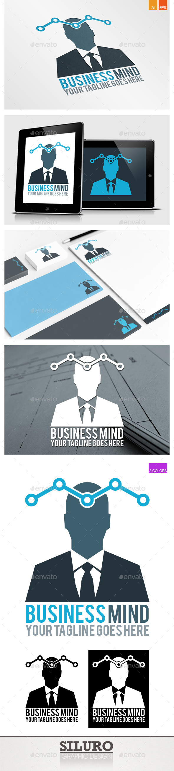 Business Mind I - Humans Logo Templates