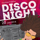 Disco Night Flyer Template - GraphicRiver Item for Sale