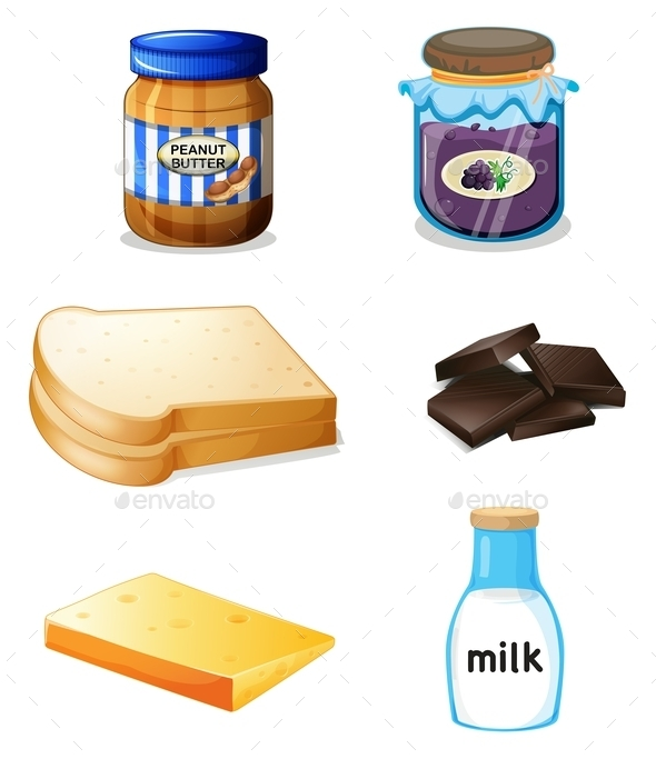 Different Kinds of Food - Food Objects