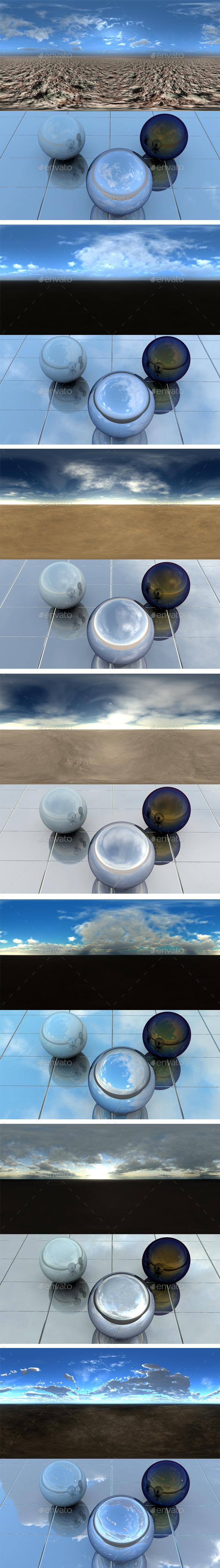 Pack - Desert 16 - 3DOcean Item for Sale