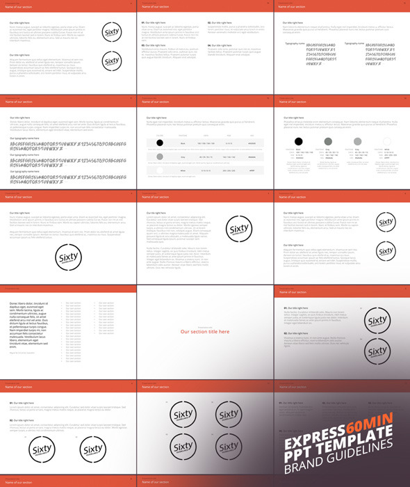 """Express"" Power Point Template - Creative PowerPoint Templates"