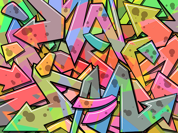 Graffiti Background - Backgrounds Decorative