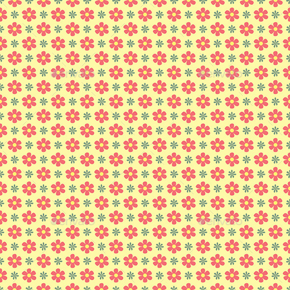 Floral Wallpaper Pattern - Backgrounds Decorative