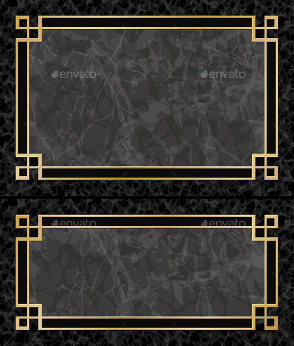 Marble Frames - Borders Decorative