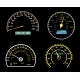 Speedometers Dials Set - GraphicRiver Item for Sale