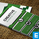 Green Creative Business Card - GraphicRiver Item for Sale