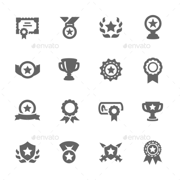 Awards Icons  - Objects Icons