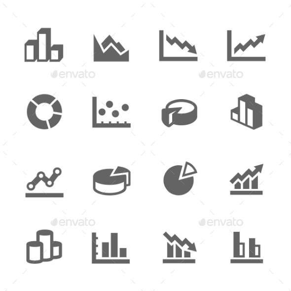 Graph Icons - Software Icons