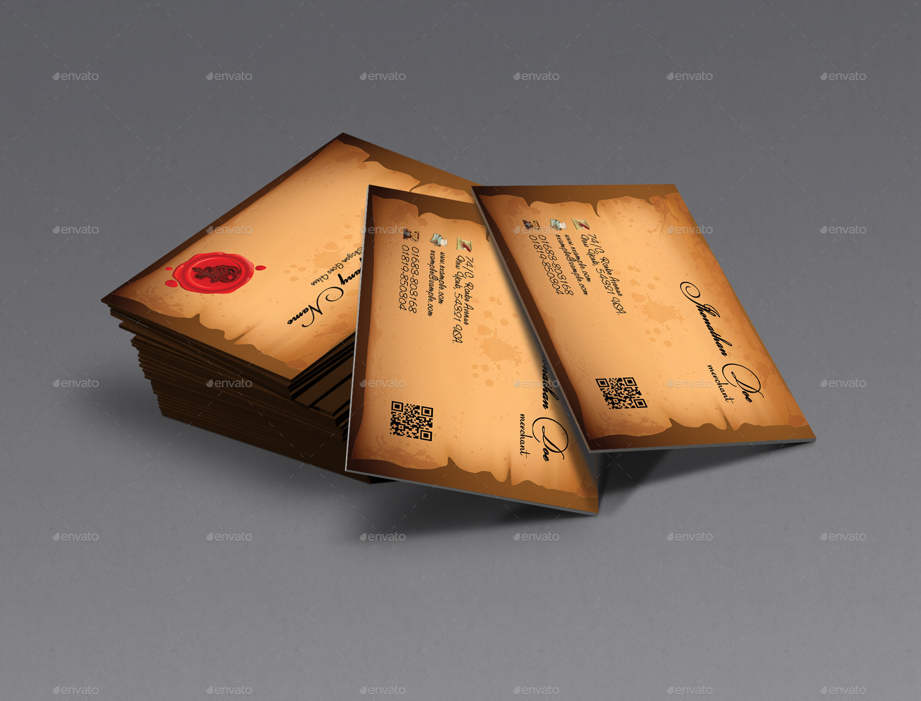 recycle paper business cards ideas