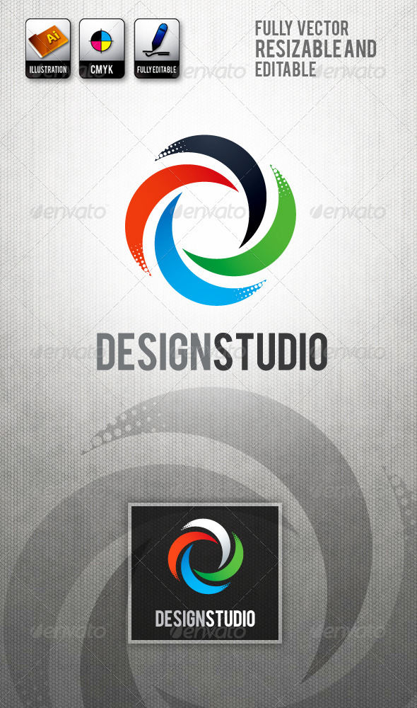 DesignStudio Logo Templates - Abstract Logo Templates