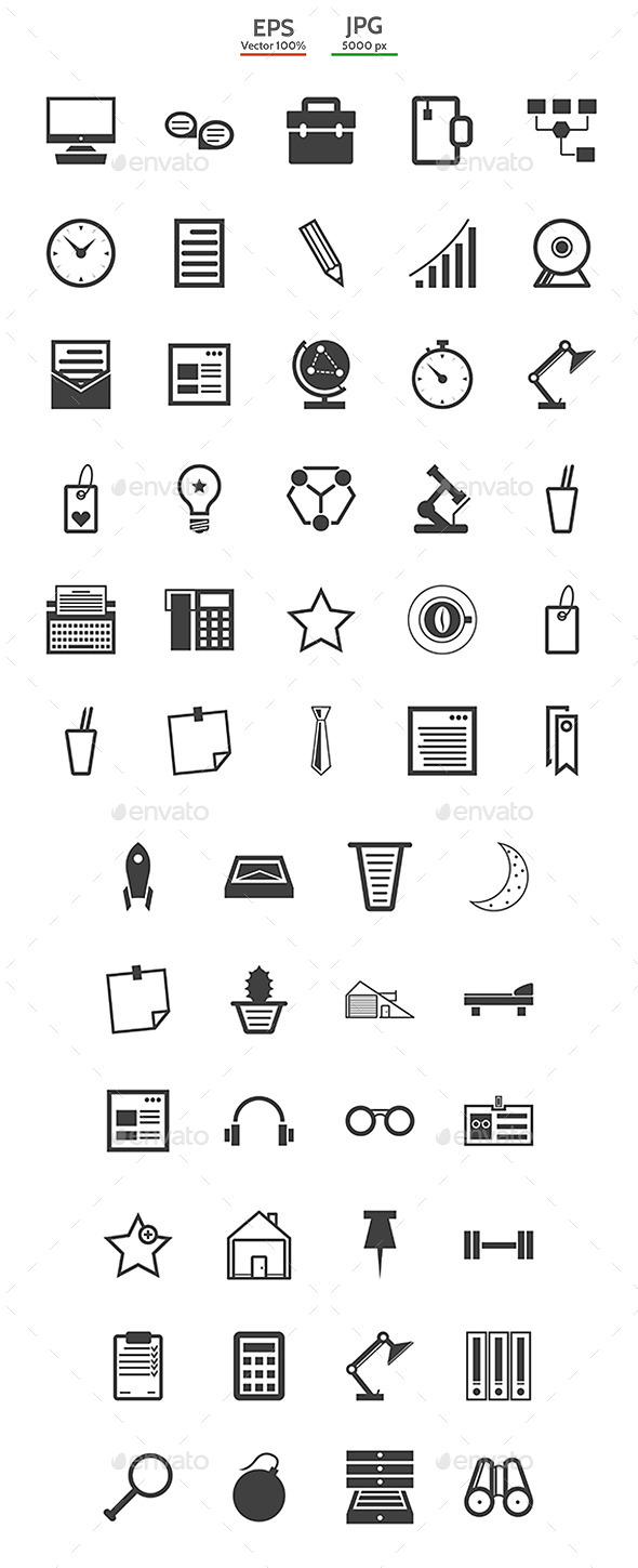 Collection for Freelance and Business Icons - Concepts Business