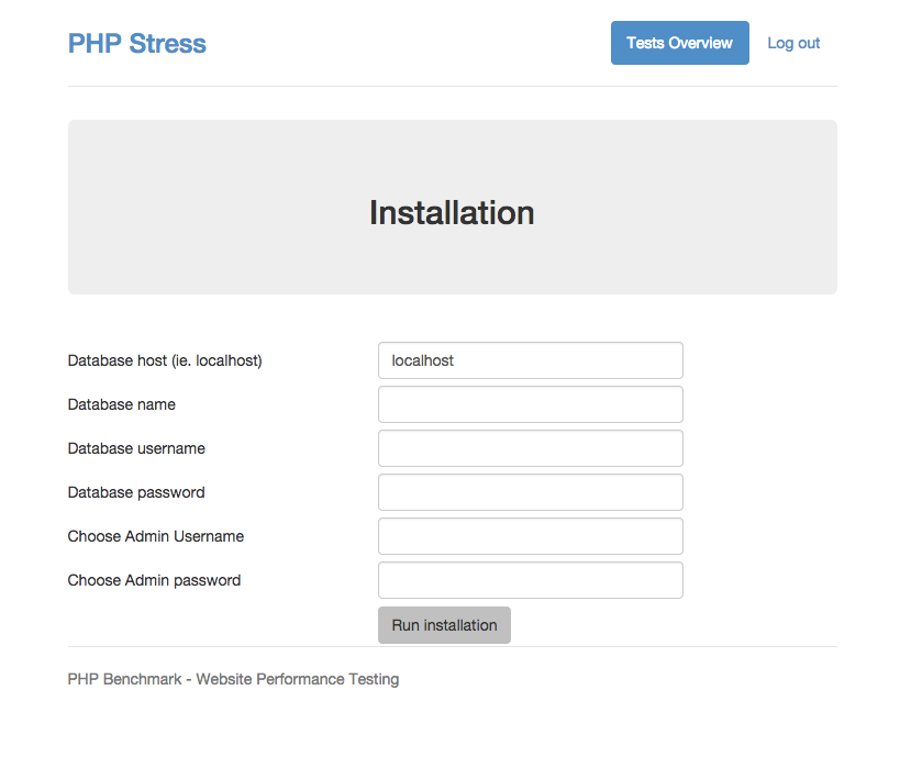 Stress Test Code: PHP Stress Test Tool By Crivion