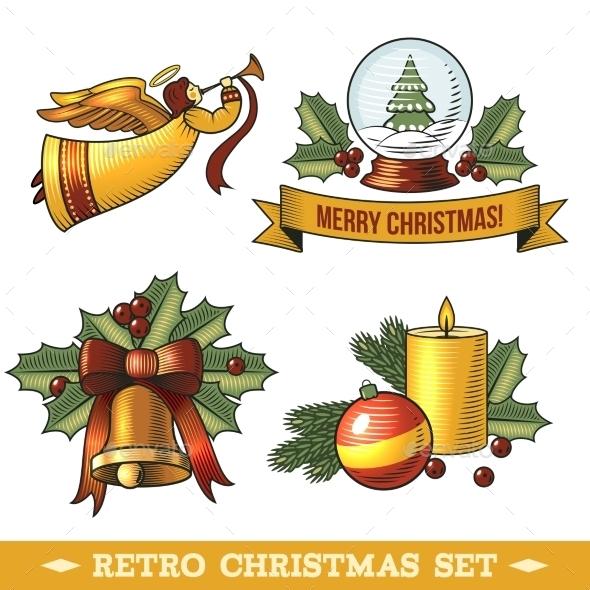 Christmas Icons Set - Christmas Seasons/Holidays
