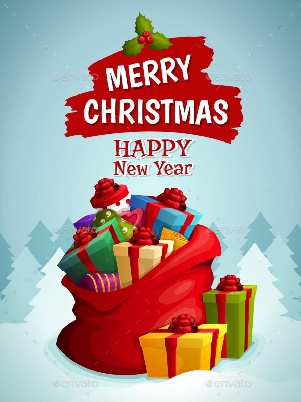 Christmas Bag Poster - Christmas Seasons/Holidays