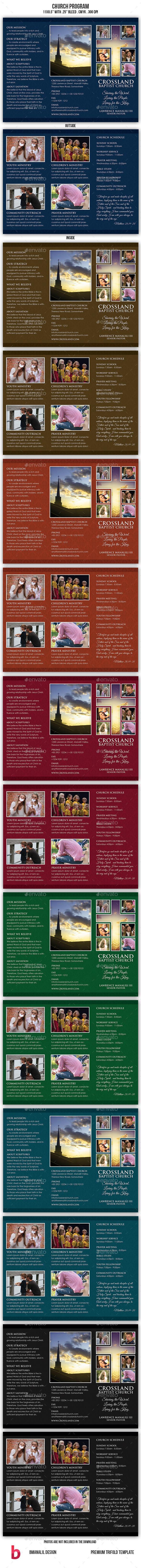 Church Program - Informational Brochures
