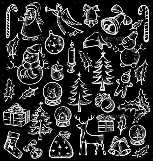 Christmas Objects and Elements - Christmas Seasons/Holidays